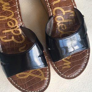 "Sam Edelman Shoes - NIB Sam Edelman black ""Reid"" wedge sandals sz 7"